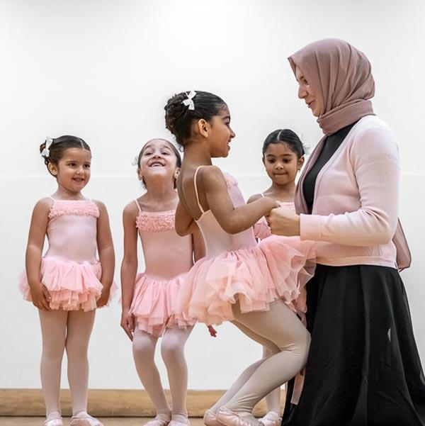 Grace & Poise Academy, the world's first Muslim ballet school