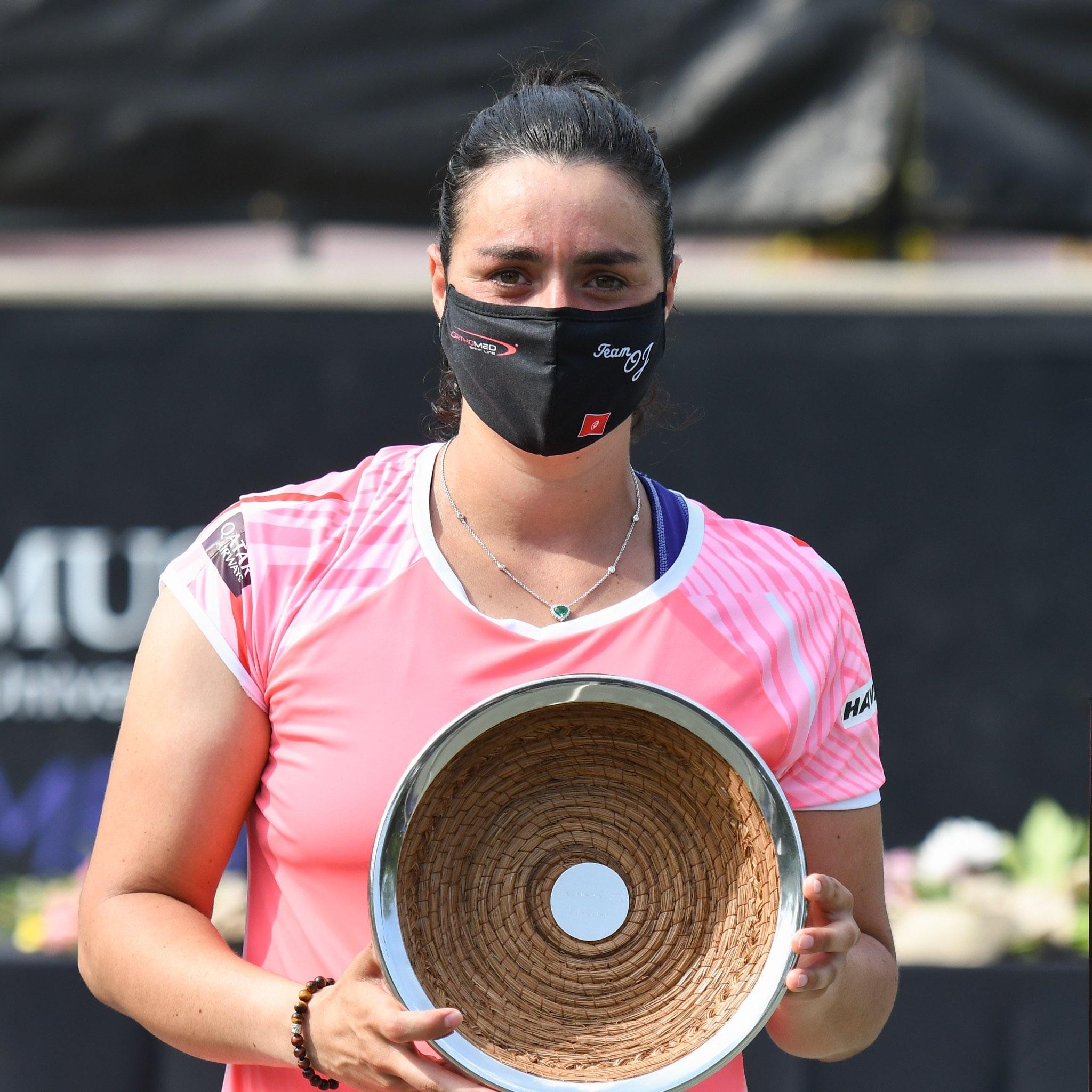 Tunisian Muslim tennis star Ons Jabeur