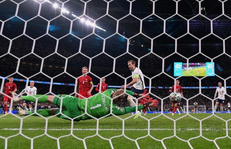 Muslim students celebrate England's winning goal in Euro 2020 semi-final