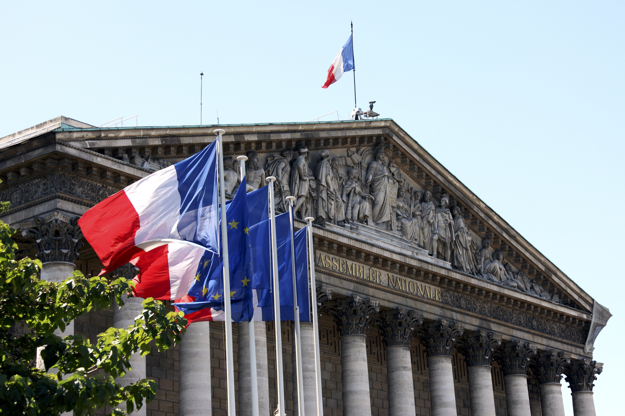 The French National Assembly, home to the nation's parliament passed its Islamophobic anti-separatism bill