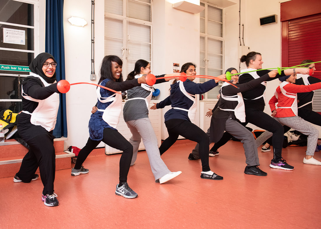 Fencing club for Muslimahs in South London formed to challenge stereotypes and misconceptions