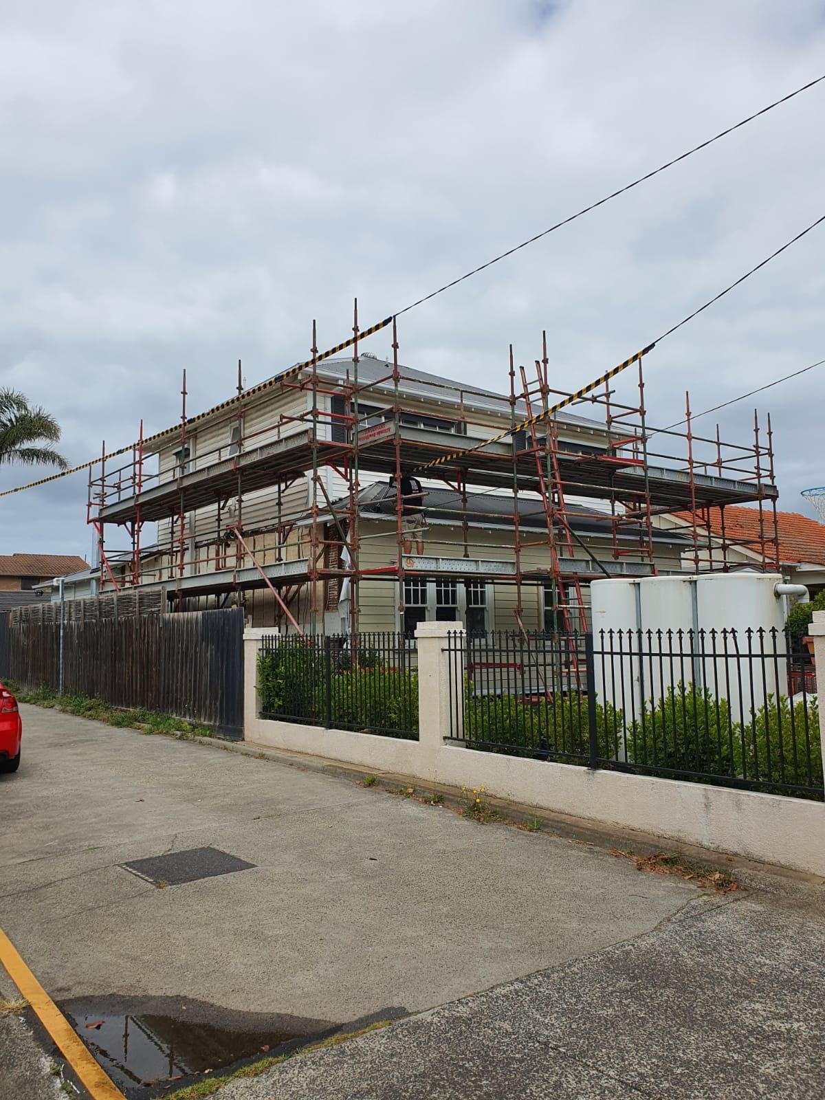 Multi level Residential scaffolding