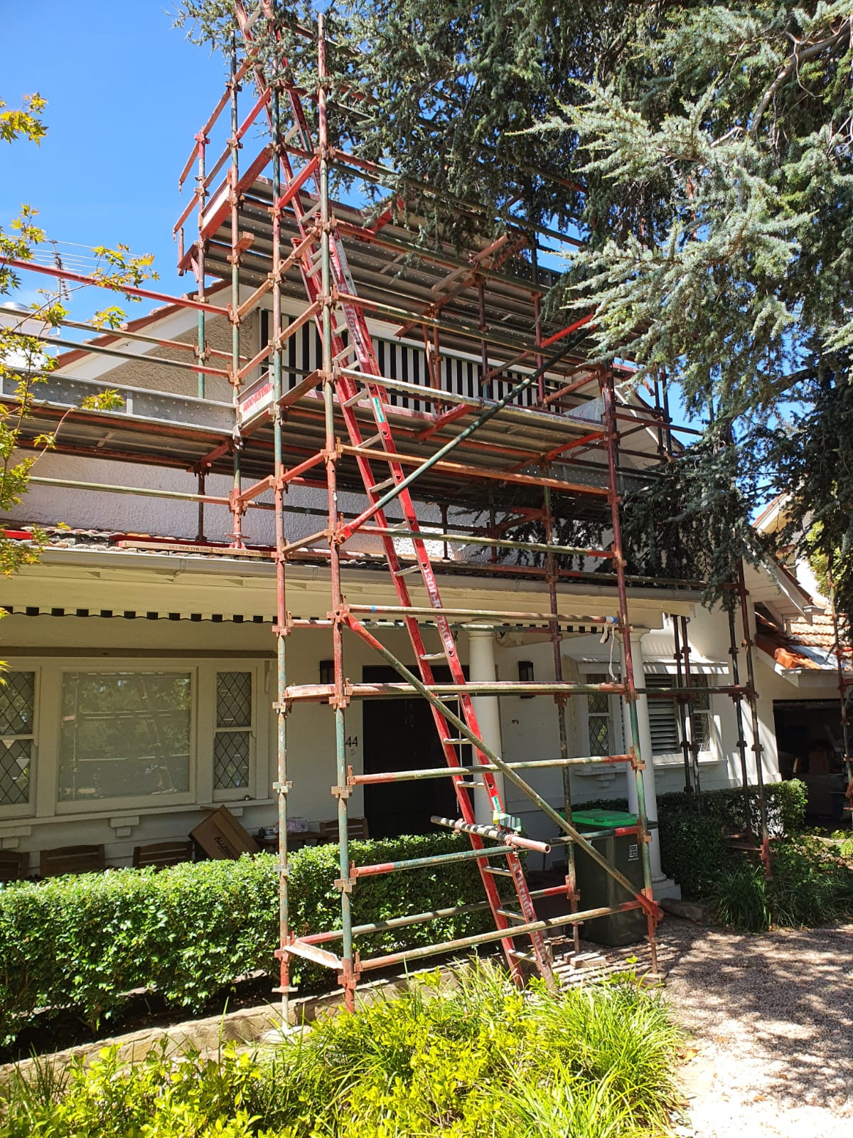 residential ladder Access scaffolding