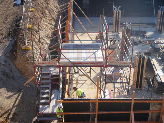 Stair Fold Access