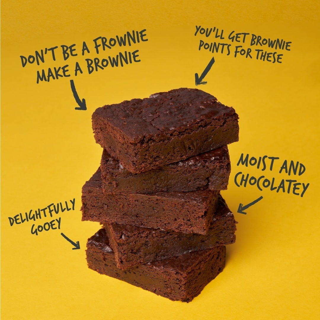 Who else has a brownie weakness? and when they look this good (and they are vegan) you'd be a fool not to 😉  Check out the recipe on our website.