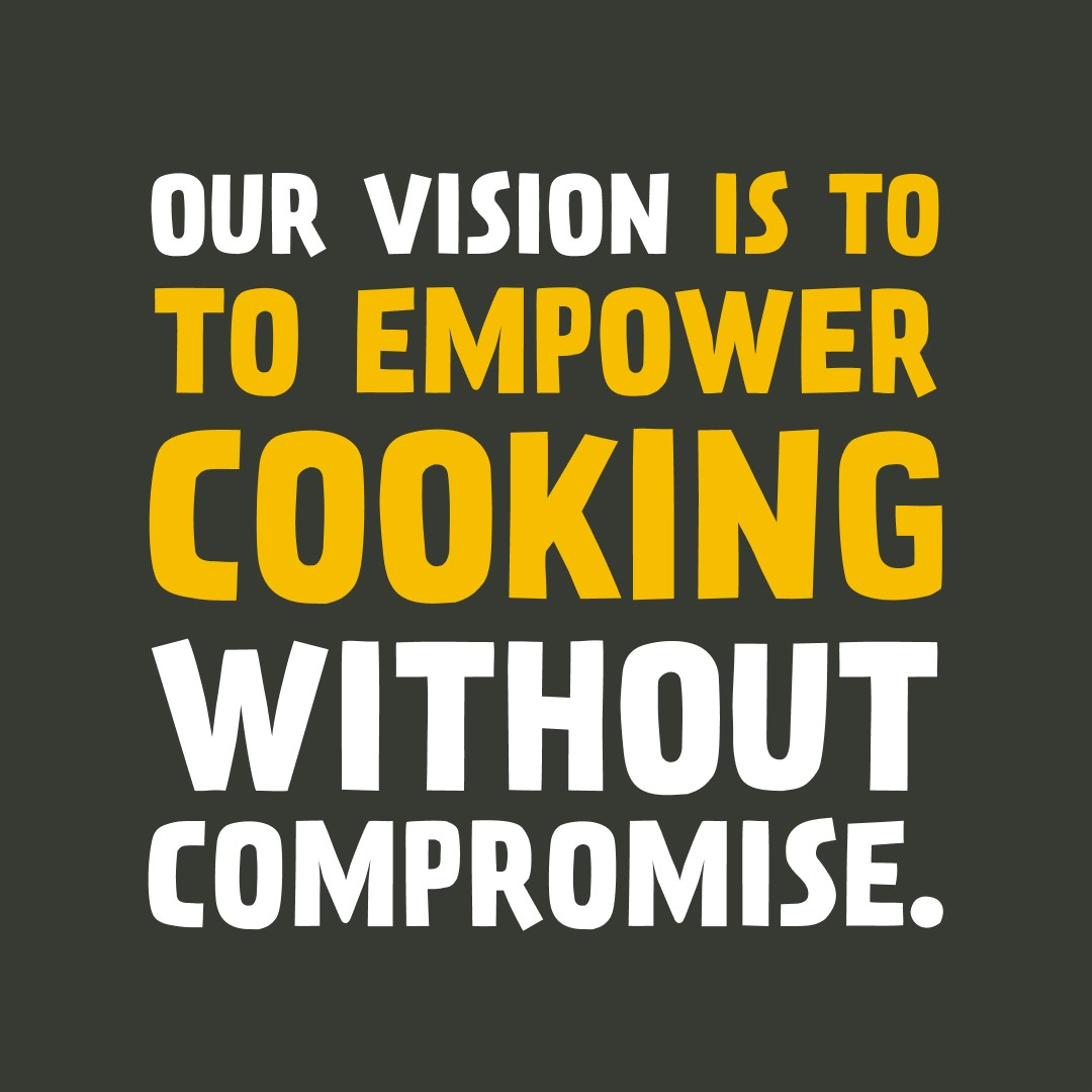 The world is changing, and we want to be a big part of that change. 🌎 Our vision is to empower cooking without compromise. Our vision is for people to eat whatever plant-based meals they want – no ifs, no buts.  Eating is probs one of the best thi...