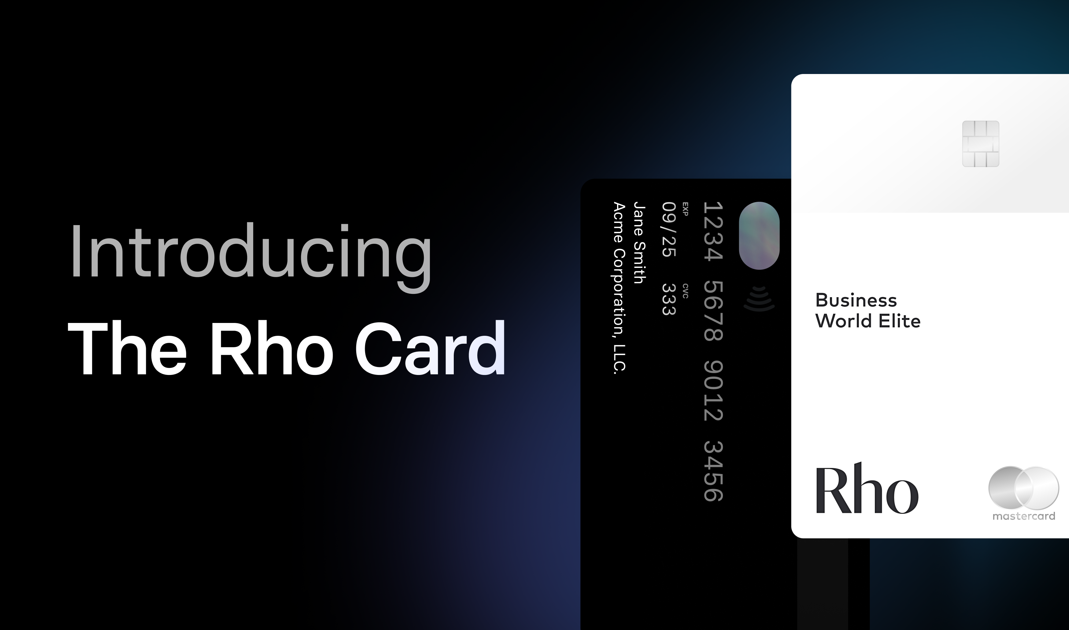 Best corporate card for your team