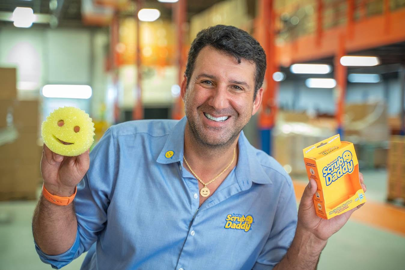 Scrub Daddy CEO Aaron Krause shares his playbook during a crisis: 'You have to lead by example'