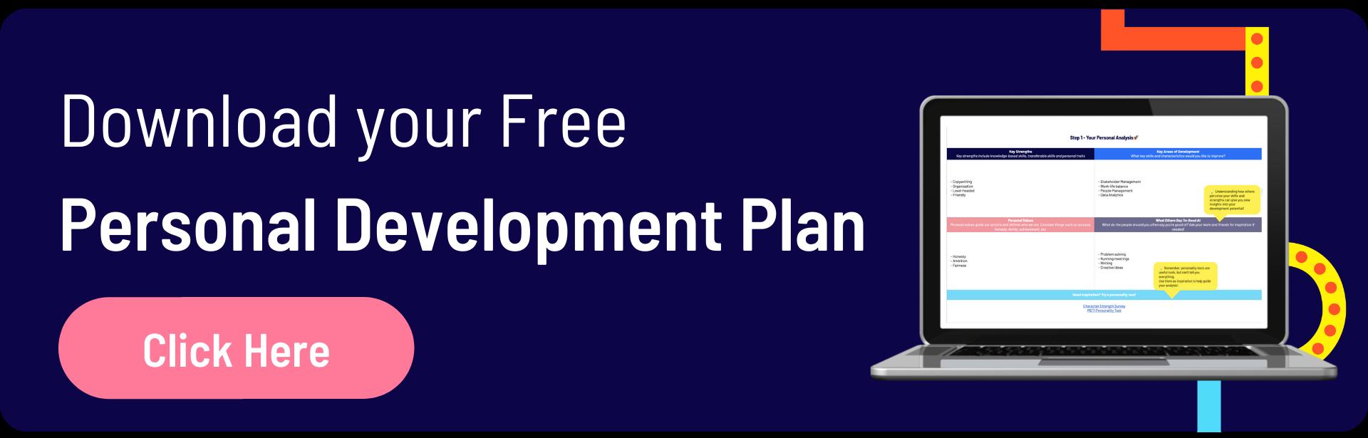 Download The Personal Development Plan