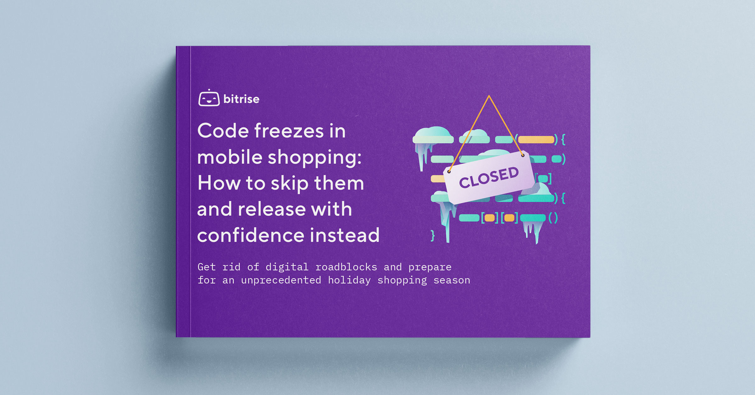 Code freezes in mobile shopping