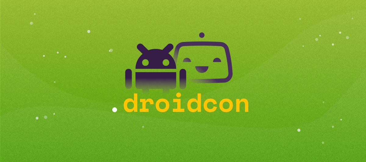 Meet us at .droidcon Berlin