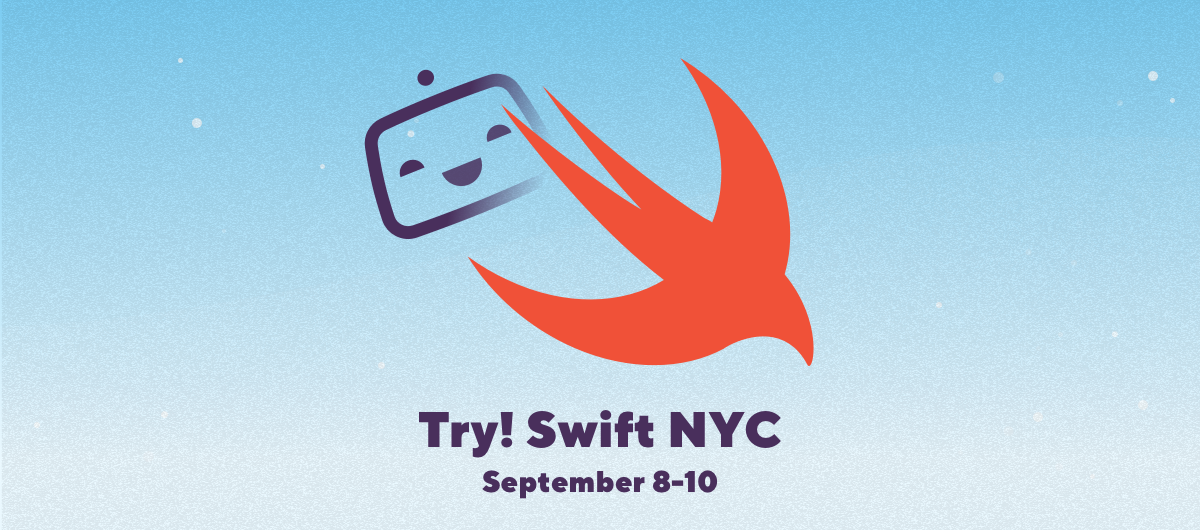 Meet us at try! Swift NYC 2019!