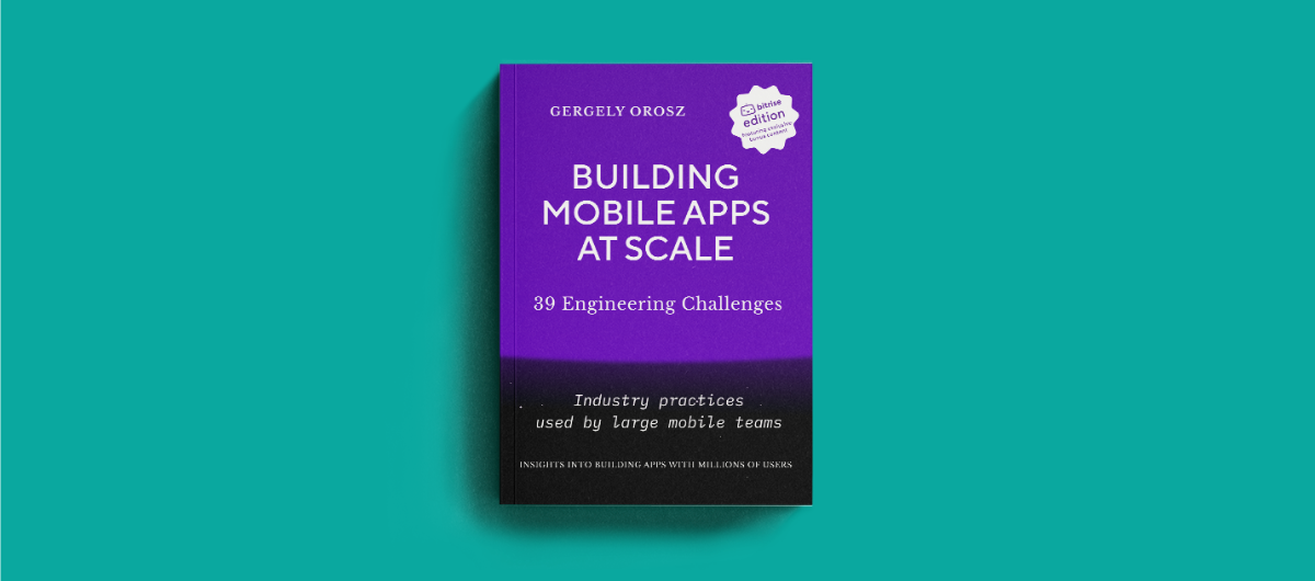 Building mobile apps at scale — download the e-book