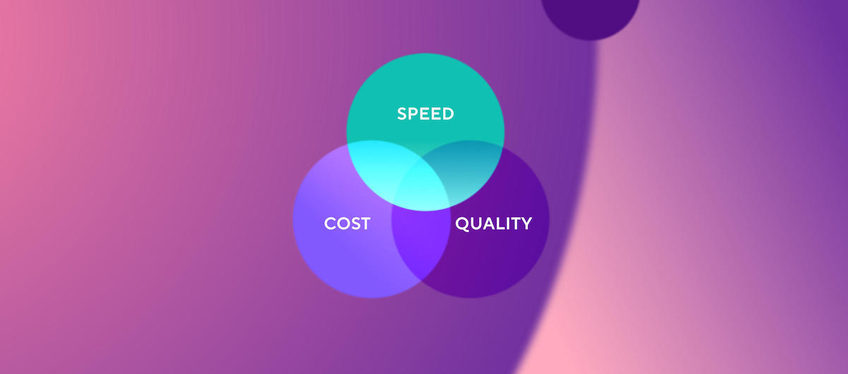 Quality, cost, and speed in mobile development: can you have it all?