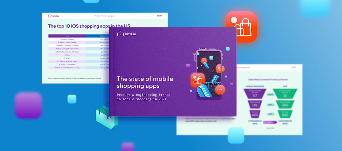 New report: The state of mobile shopping apps in 2021