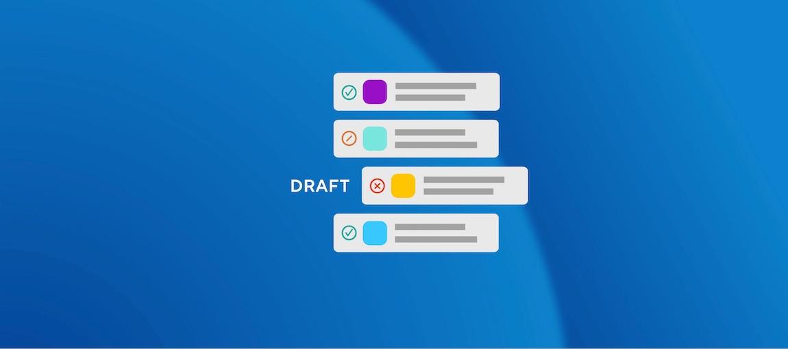 Skip certain builds or only some Steps with the Draft PR Env Var