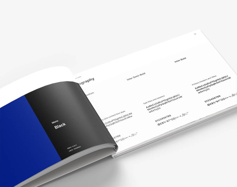 Brand Book Features