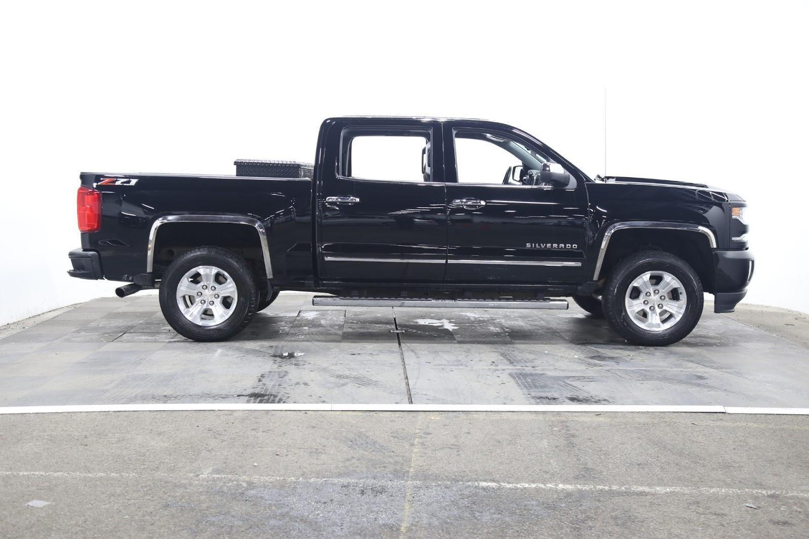 2018 Chevrolet Silverado 1500 (from $41,950)