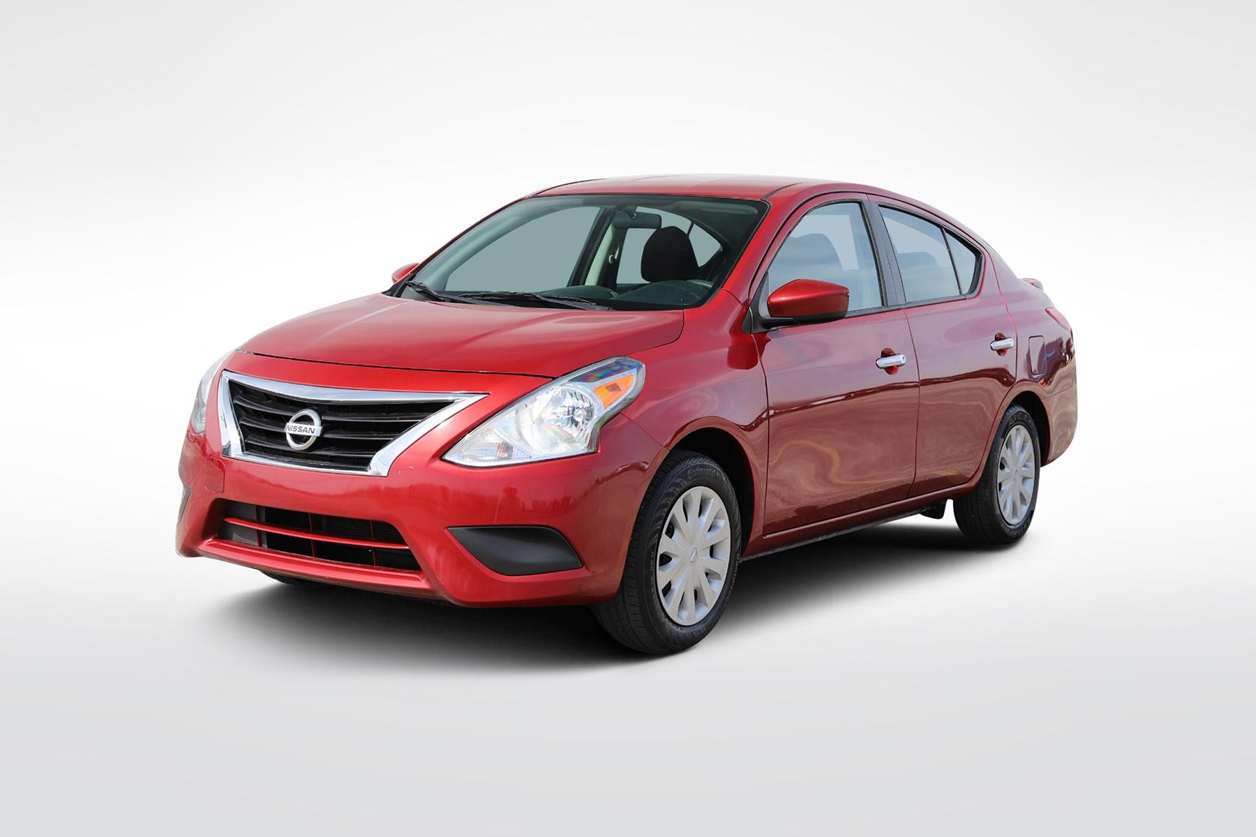 2017 Nissan Versa SV (from $9,400)