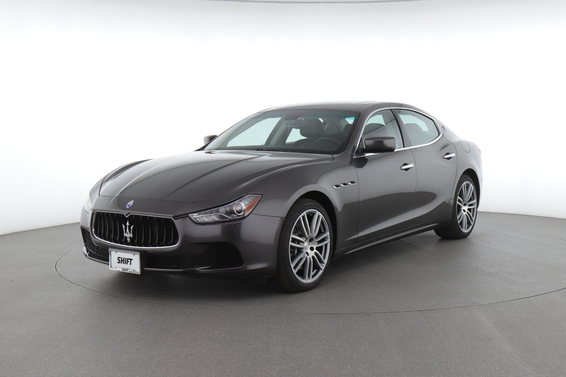 2015 Maserati Ghibli (from $28,450)