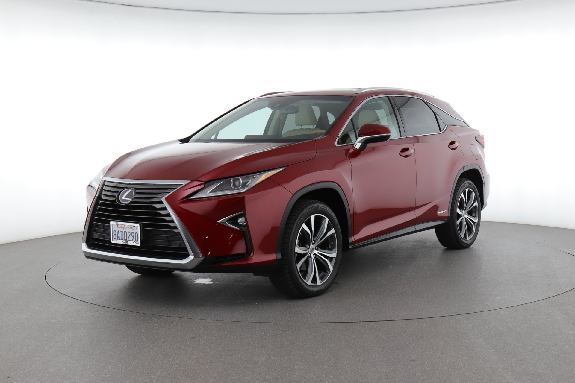 2017 Lexus RX 450h (from $41,500)