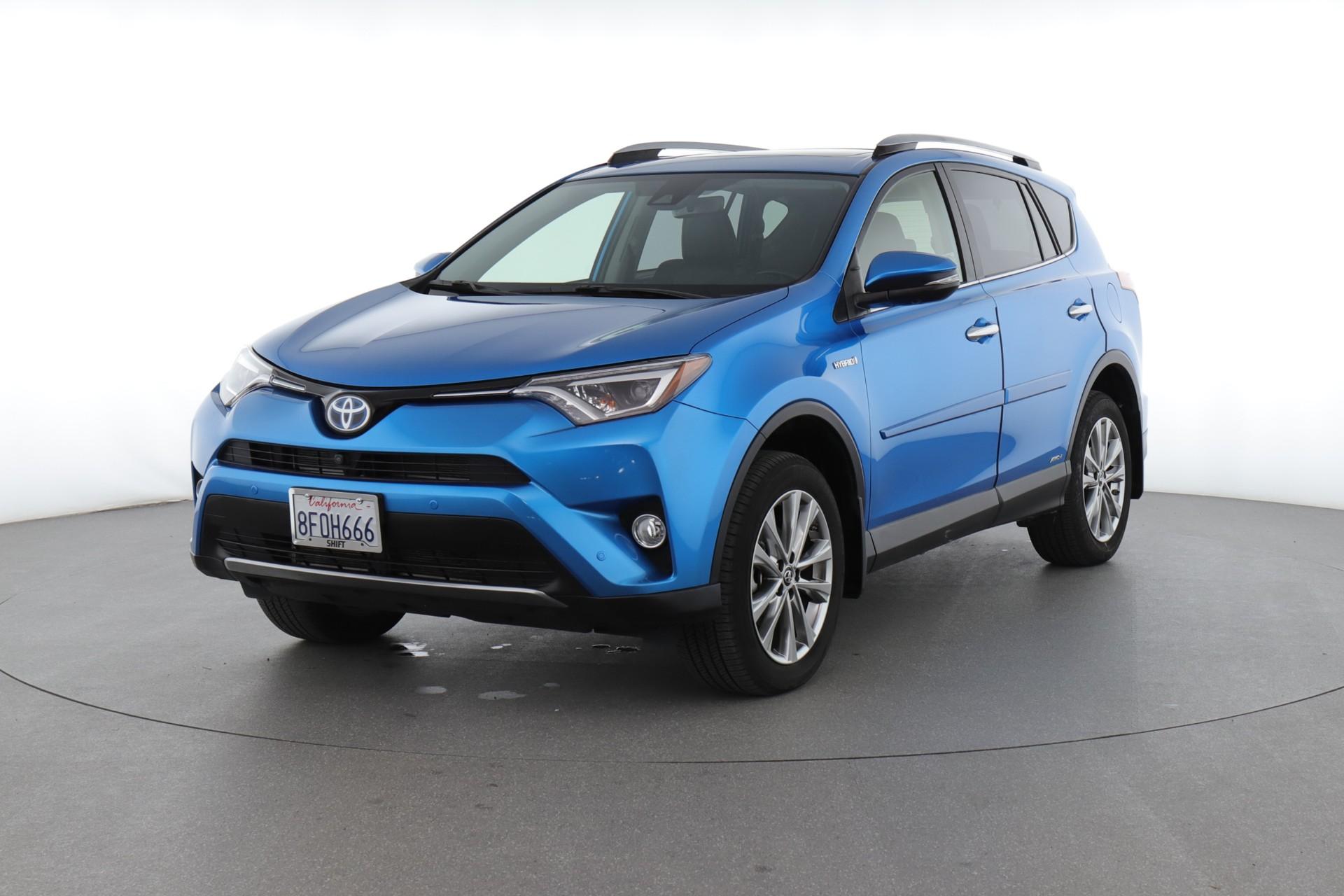 2018 Toyota RAV4 Hybrid Limited (from $33,950)