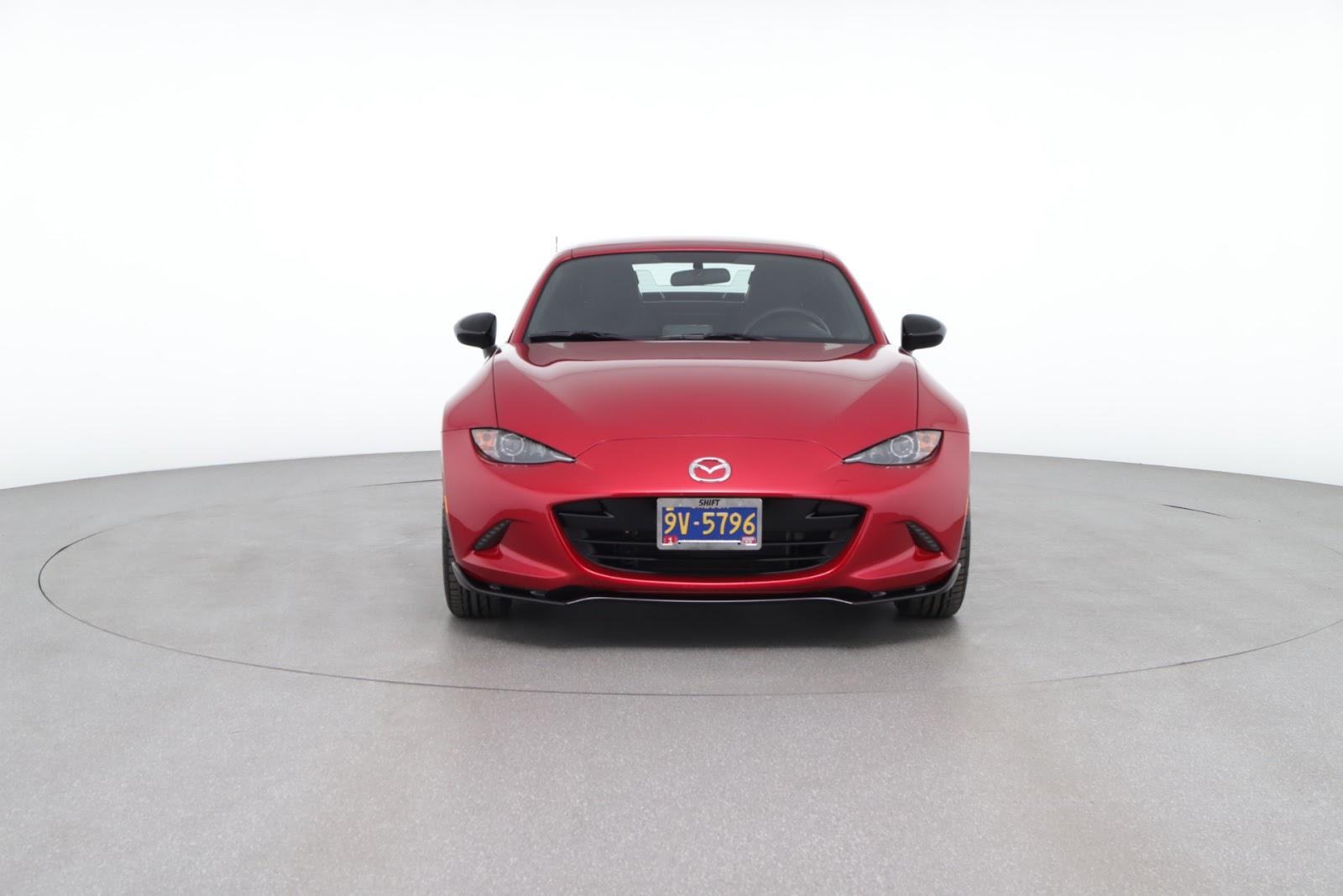 2017 Mazda MX-5 Miata RF Club (from $29,500)