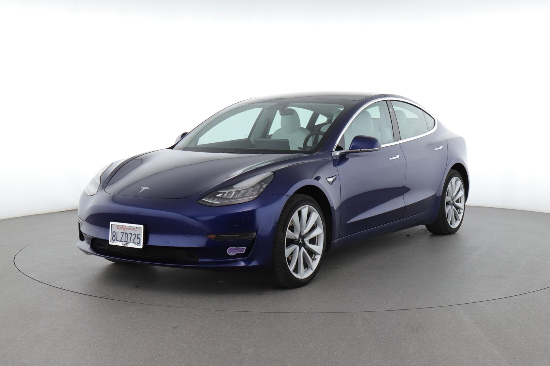 2019 Tesla Model 3 Standard Range Plus (from $42,500)