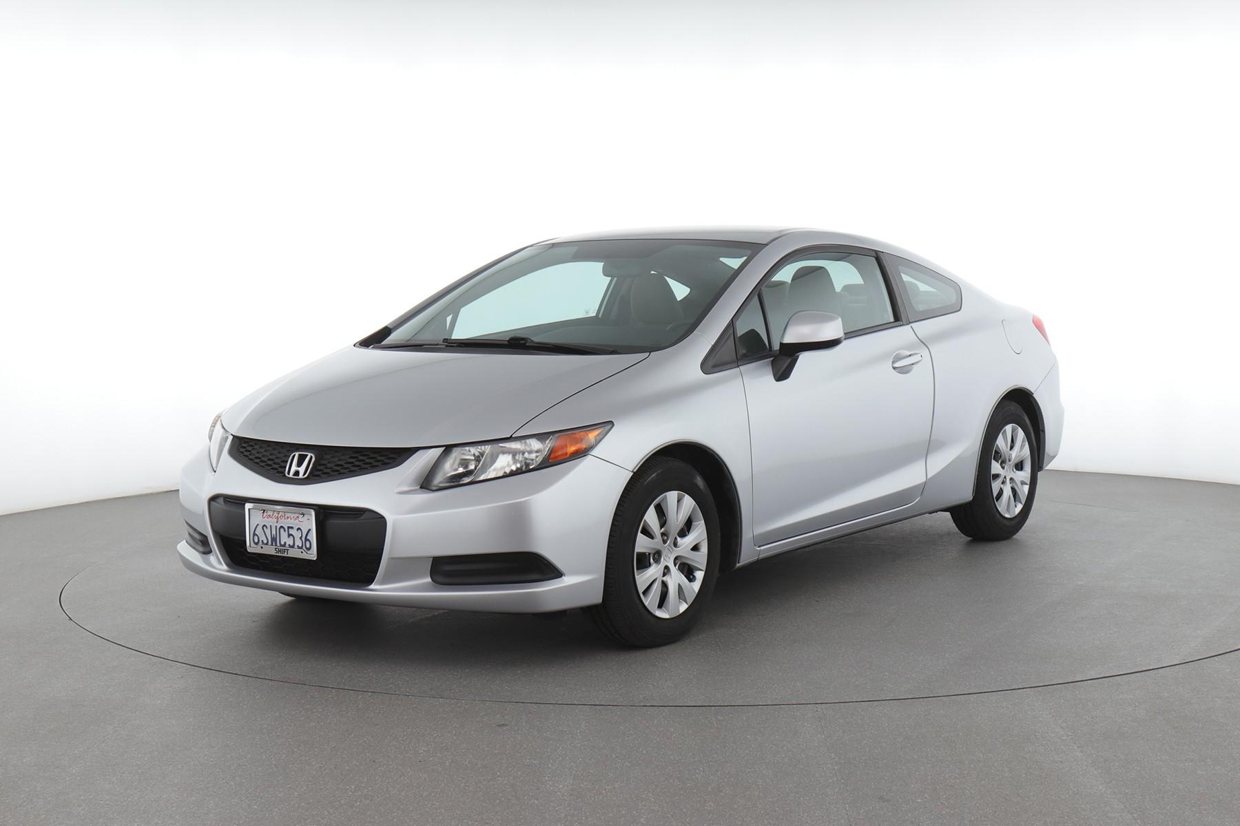 2012 Honda Civic (from $9,950)