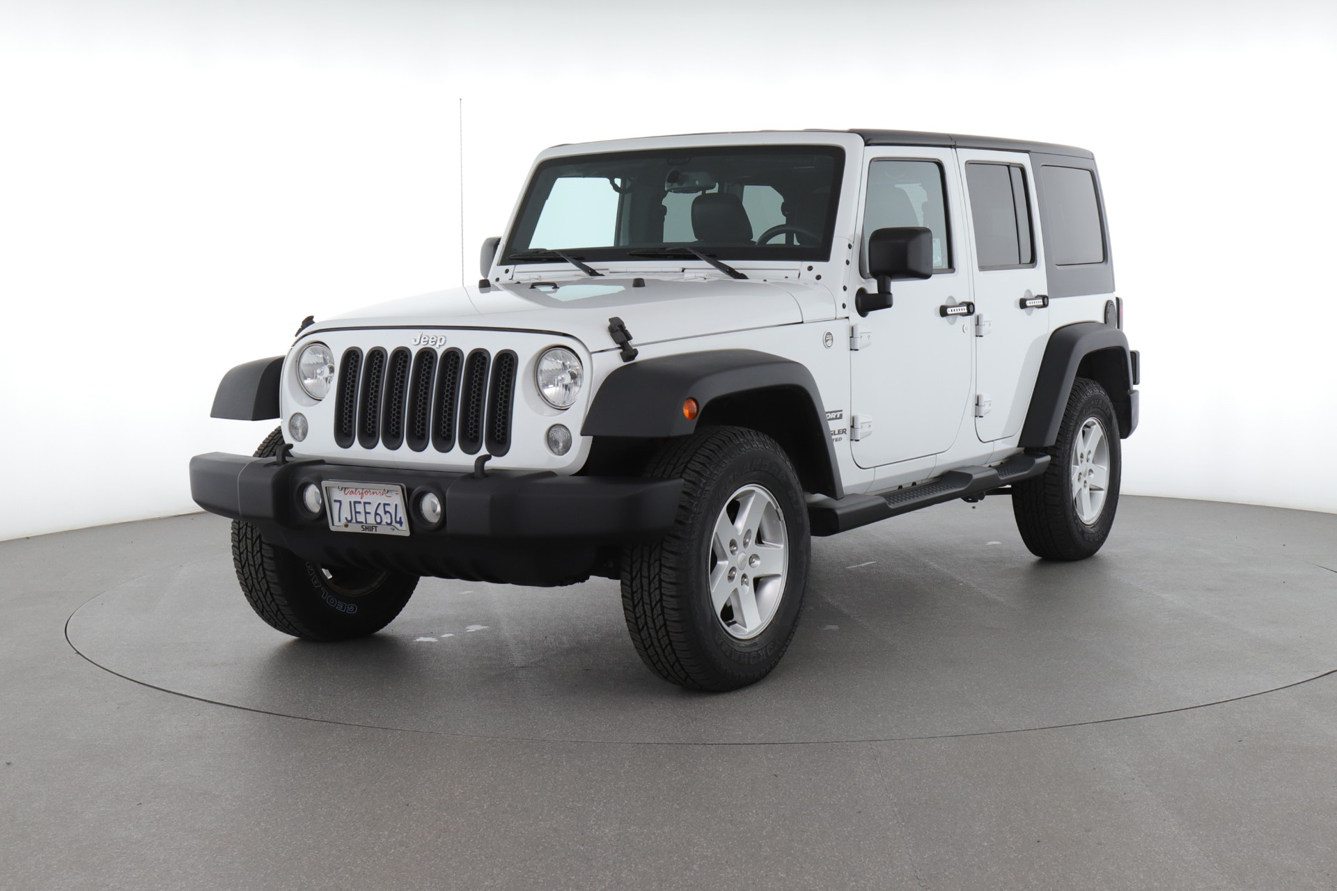 2015 Jeep Wrangler Unlimited Sport (from $35,200)