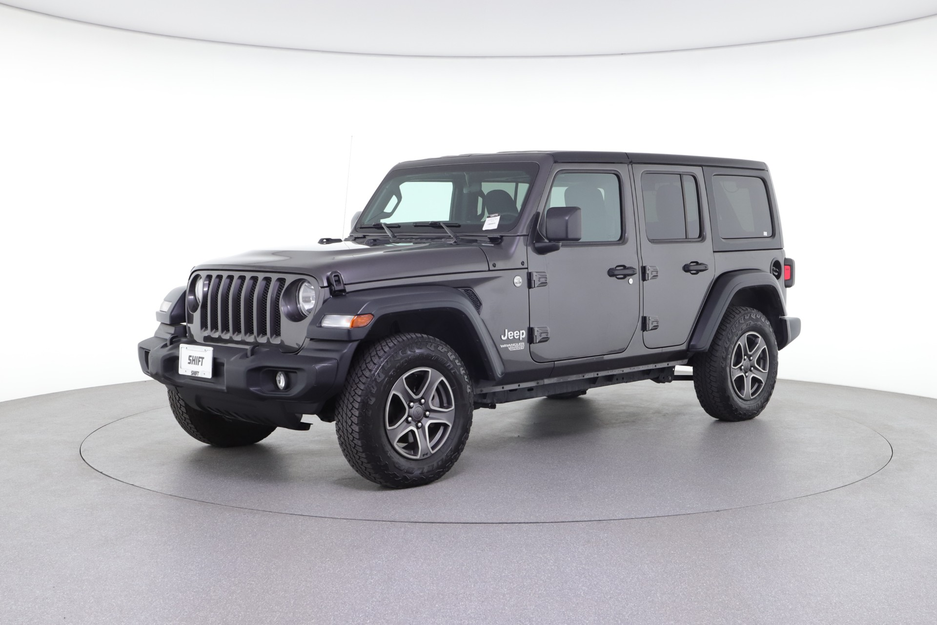 2018 Jeep Wrangler Unlimited Sport S (from $39,950)
