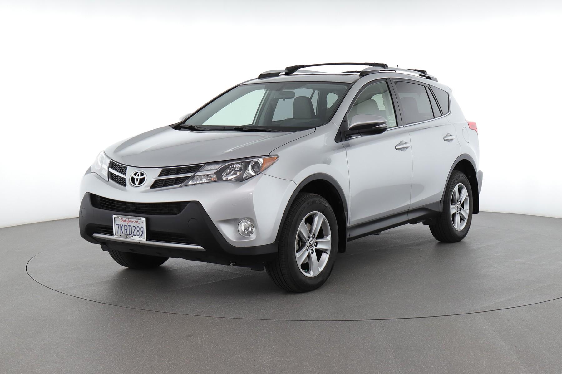 2015 Toyota RAV4 XLE (from $21,950)