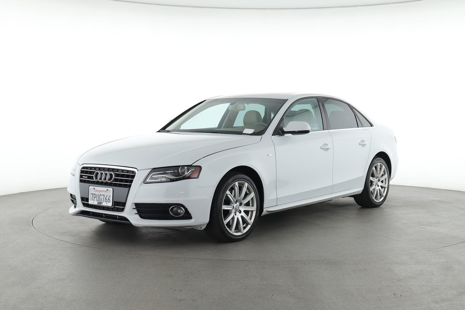 2012 Audi A4 Premium Plus (from $12,950)
