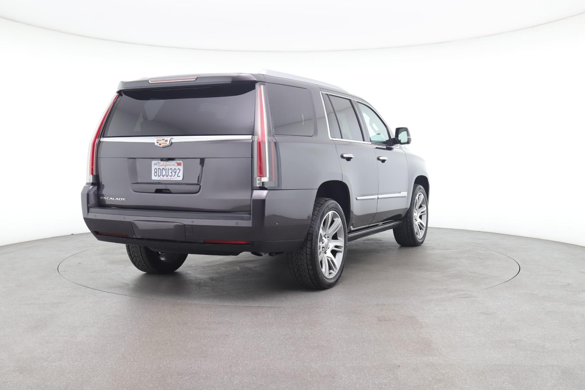 2018 Cadillac Escalade Premium (from $55,950)