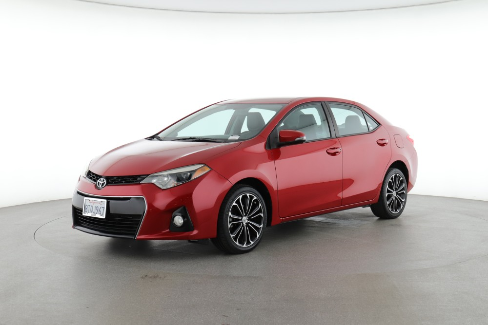 2015 Toyota Corolla S Plus (from $15,200)