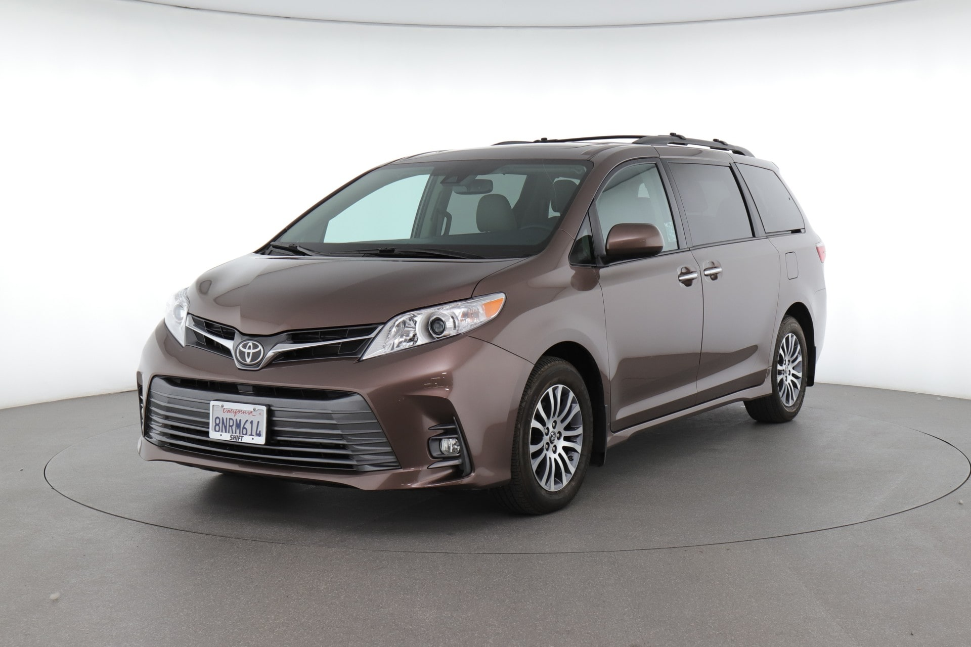 2020 Toyota Sienna XLE (from $36,550)