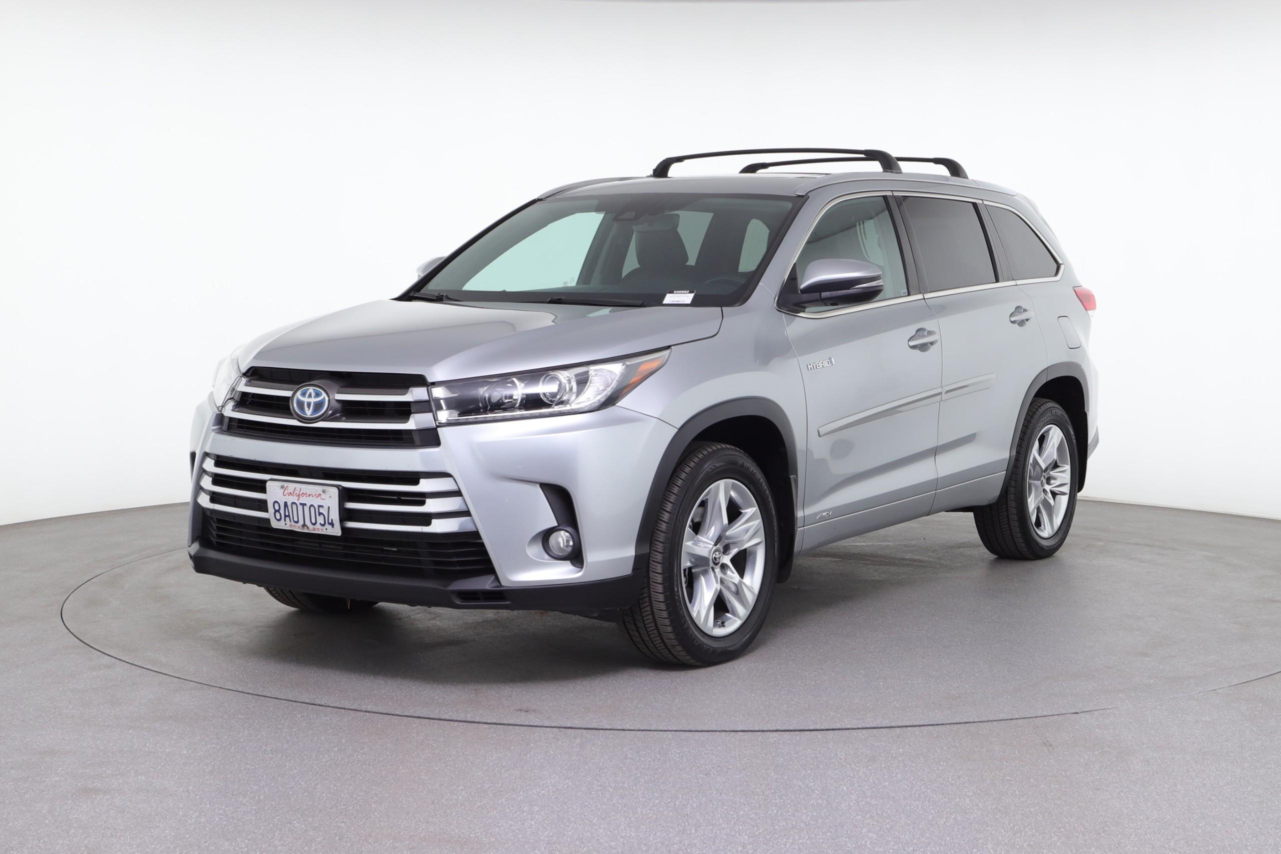 2017 Toyota Highlander Hybrid Limited (from $33,950)