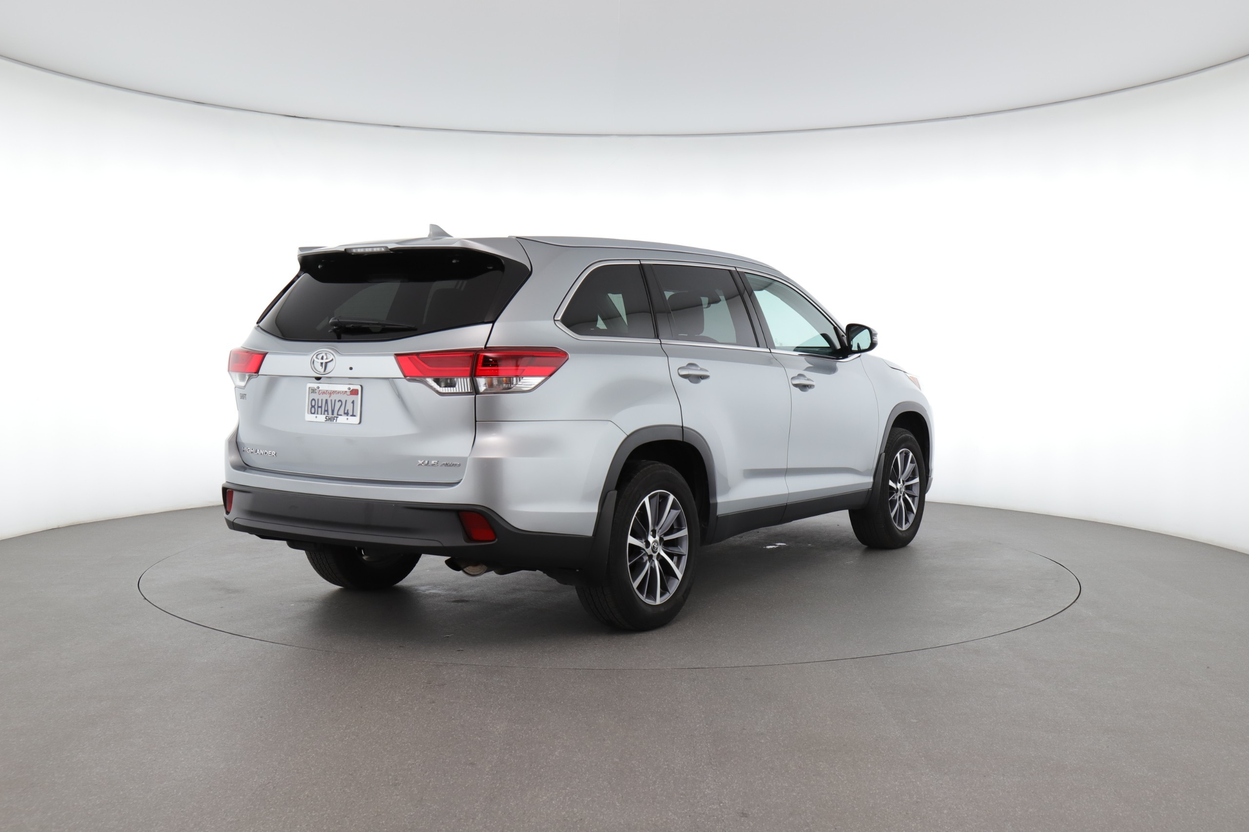2019 Toyota Highlander XLE (from $38,950)