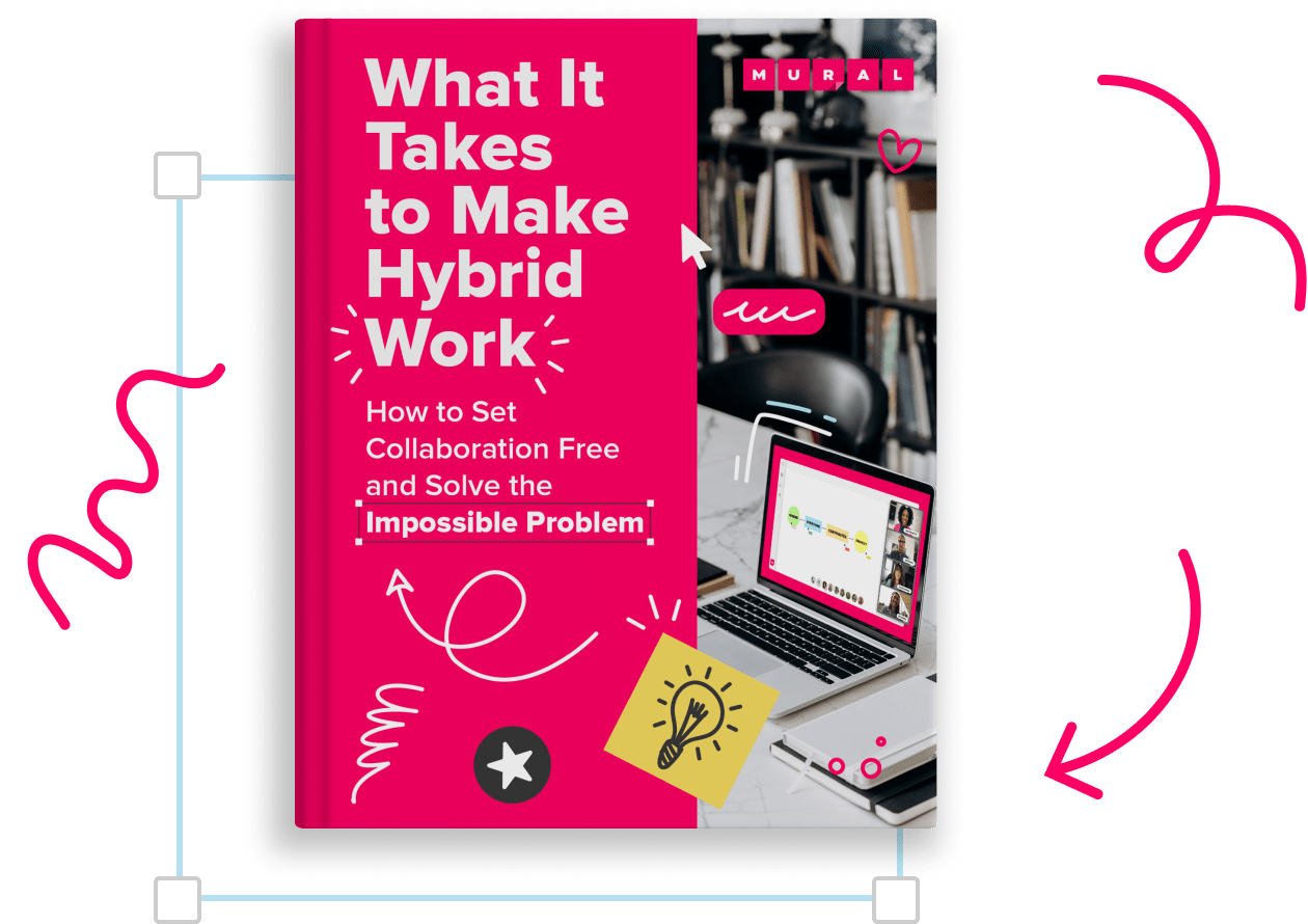 What it takes to make Hybrid work: an eBook by MURAL