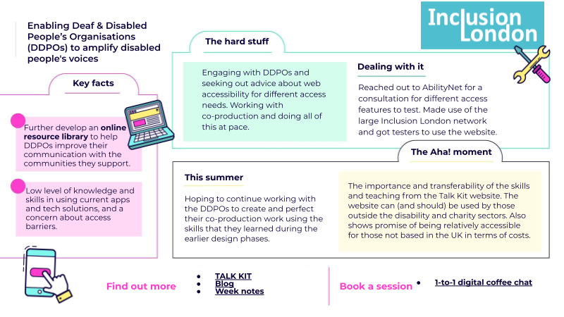 Enabling Deaf & Disabled People's Organisations (DDPOs) to amplify disabled people's voices