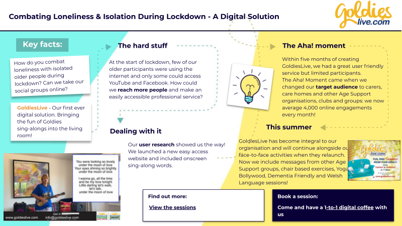 Combating Loneliness & Isolation During Lockdown - A Digital Solution