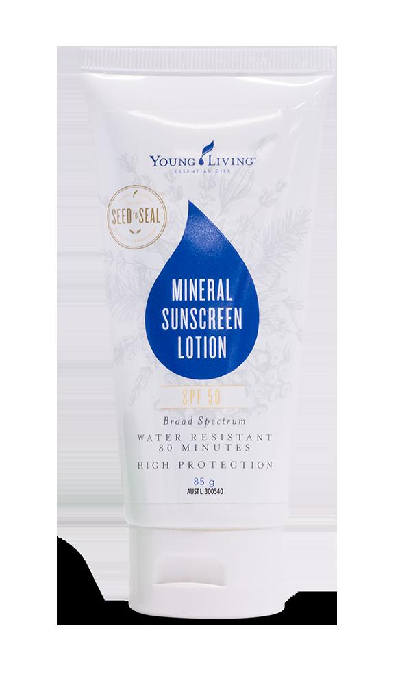 Ätherisches Öl Young Living: Minerals Sunscreen SPF 50 - Natürliche Sonnencreme Schutz 50