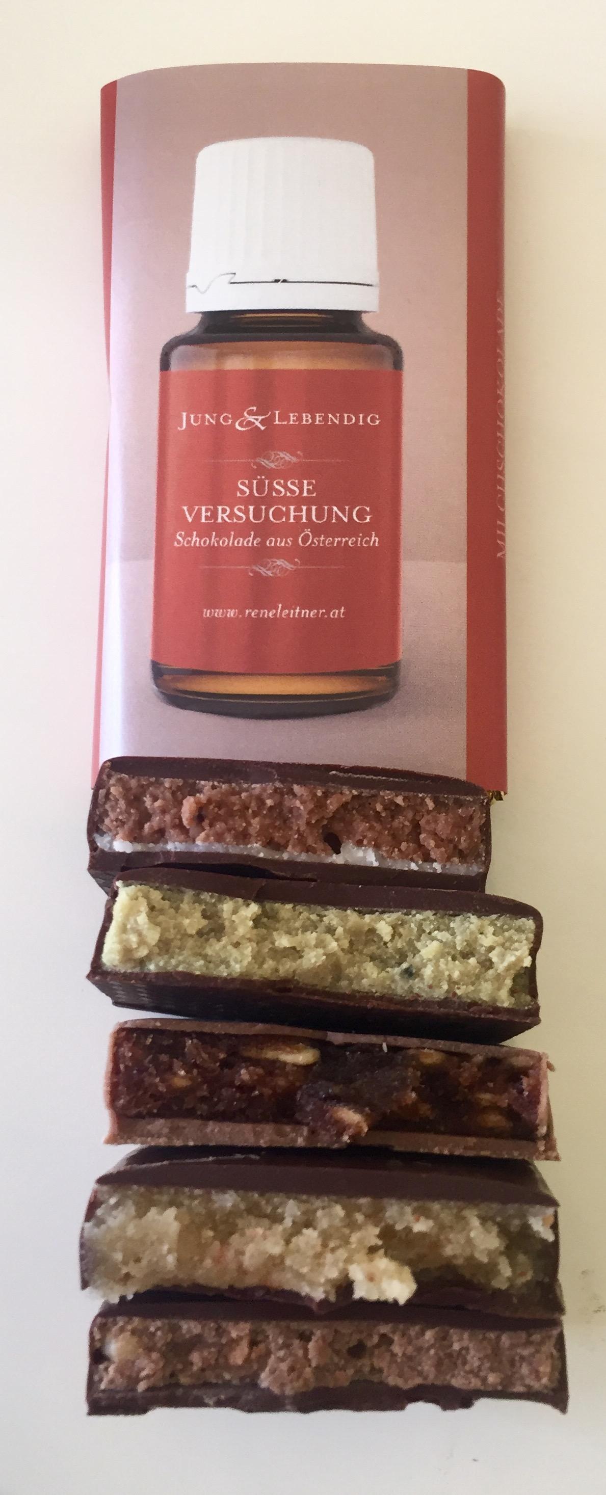 Ätherisches Öl Young Living: Öle Schokoladen mit YL Plus Ölen gefüllt