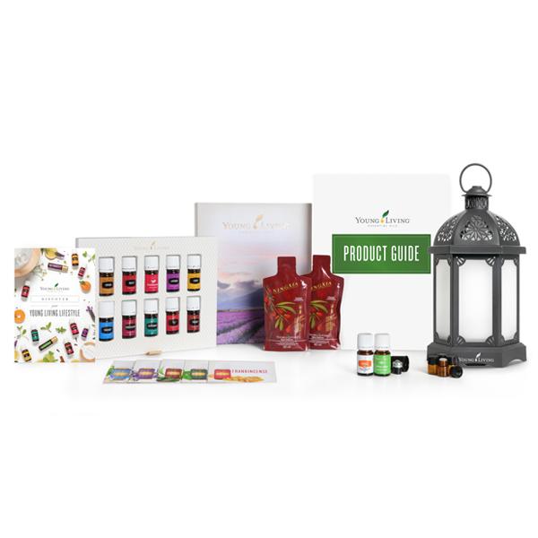 Ätherisches Öl Young Living: Premium Start Set Lantern Diffuser