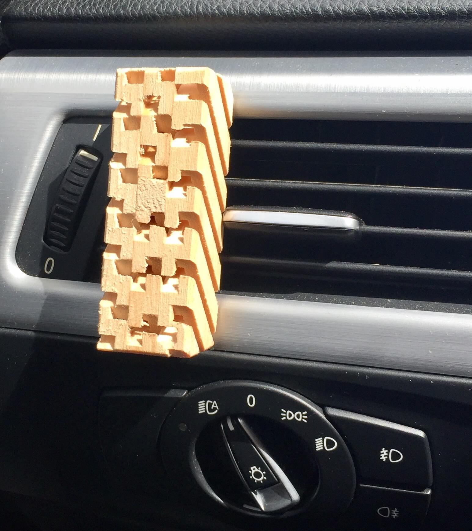 Duft Holz ZIRBE für das Auto