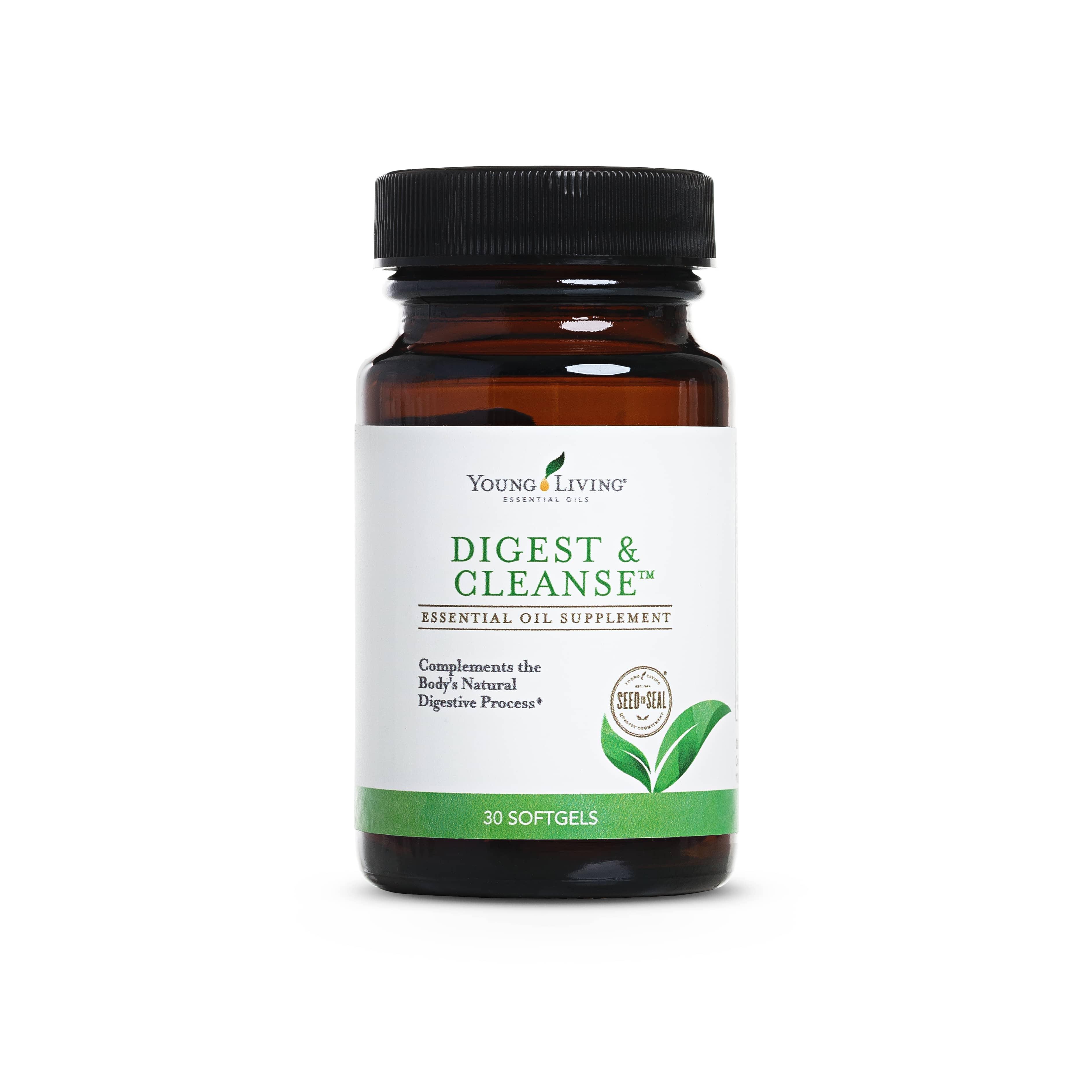Ätherisches Öl Young Living: Digest + Cleanse 30 Kapseln