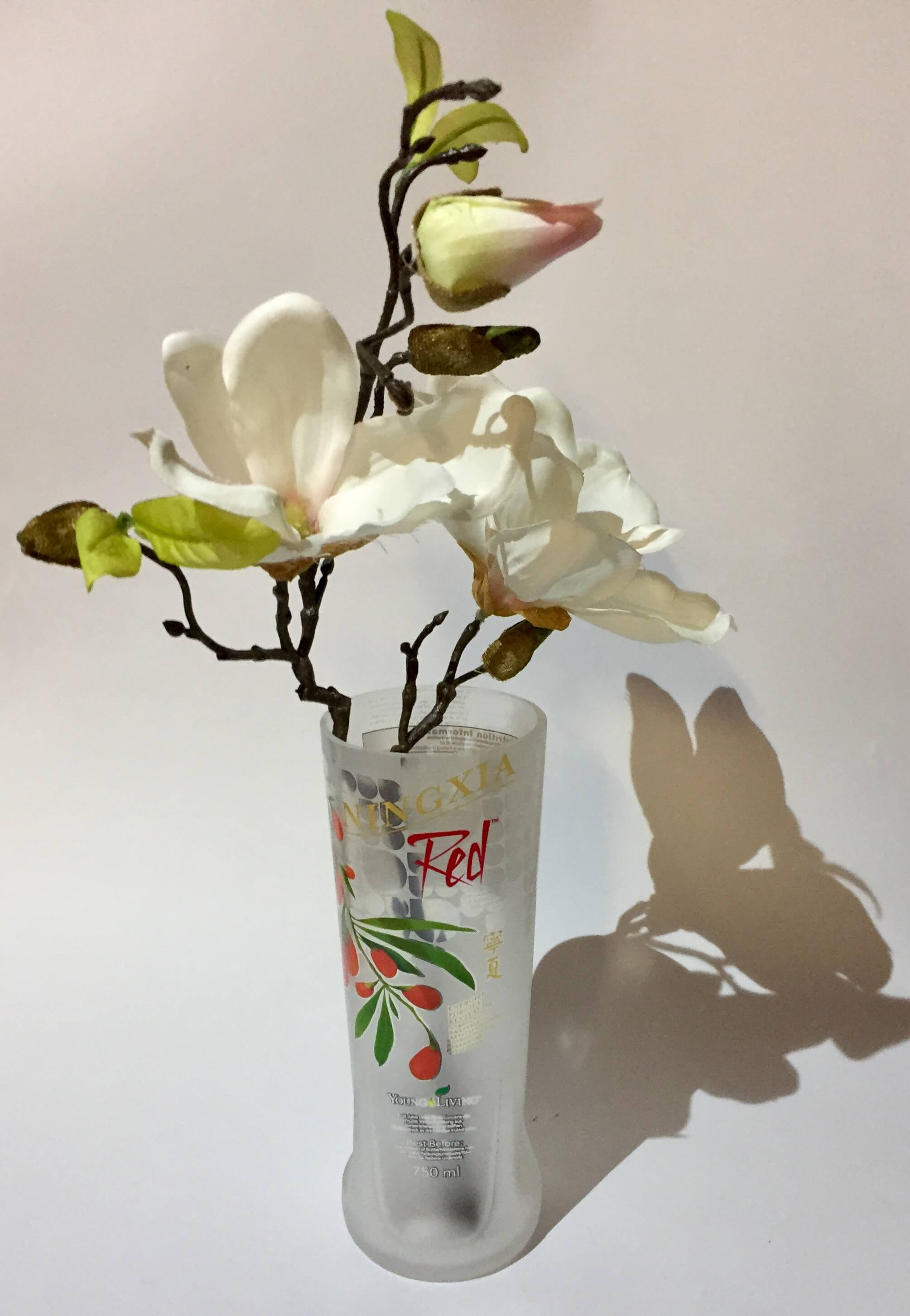 Ningxia Red Vase Deko 2 Stück
