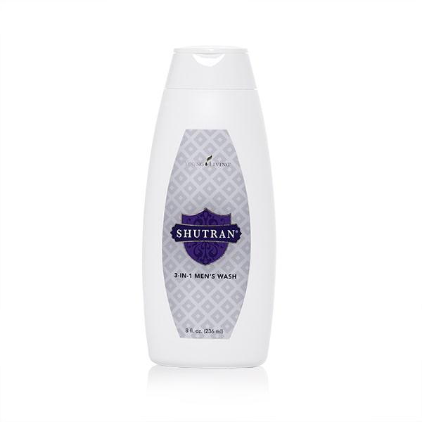 Ätherisches Öl Young Living: Shutran® 3-in-1 Men's Wash (Shampoo, Gesicht, Körper-GEL) 236ml