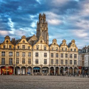 Photographie d'un immeuble à Arras