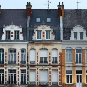 Photographie d'une rue de Cambrai